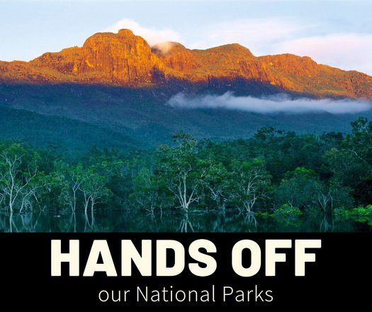image of Hands Off Our National Parks